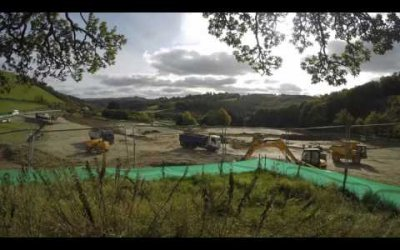 Construction Of Red Kite Touring Park Time Lapse Part 1