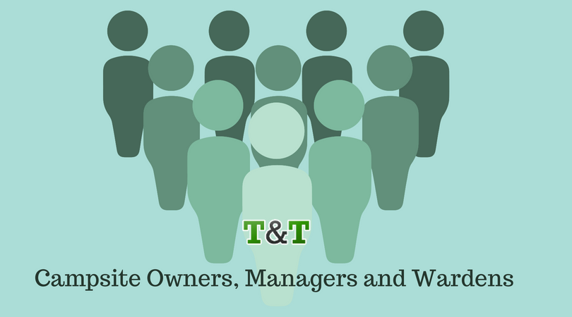 Campsite Owners, managers and agents
